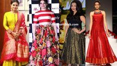 How to use old chiffon sarees in 8 fantastic ways Kids Lehenga, Chiffon Saree, Half Saree, Anarkali, Being Used, New Outfits, Kurti, Sarees, Fashion