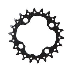 Shimano FC-M660 Black 22T Chainring Chainrings Genuine Shimano replacement 22T chainring. http://www.MightGet.com/january-2017-11/shimano-fc-m660-black-22t-chainring-chainrings.asp