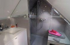 sdb sous les combles : A Paris : un super 16 m2 sous les toits - CôtéMaison.fr