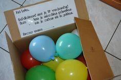 Geld Cadeau met Ballonnen