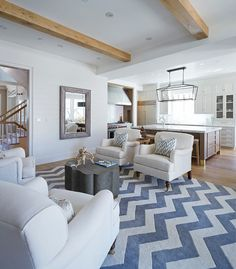 Los Angeles Home with East Coast Inspired Interiors - Home Bunch - An Interior Design & Luxury Homes Blog