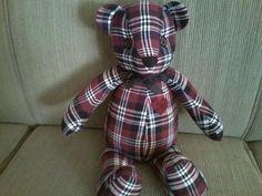 Custom Memory Bear  18 inch by Littlebbears on Etsy, $30.00