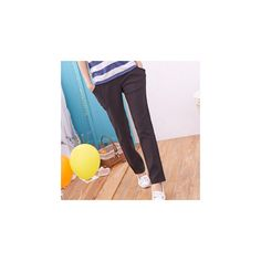 Pleated Pants (380 EGP) ❤ liked on Polyvore featuring pants, women, pleated pants, pleated trousers and purple pants