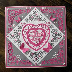 Blog tonic: Mother's Day Card with the new corner dies