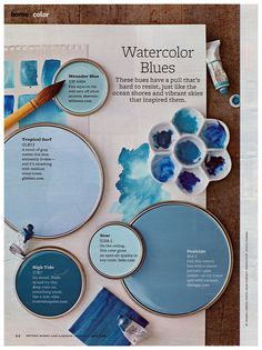 Water Color Blues Better Homes And Gardens 2011-05 by Eudaemonius, via Flickr