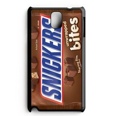 Snickers Candy Bar Chocolate Samsung Galaxy Note 5 Edge Case