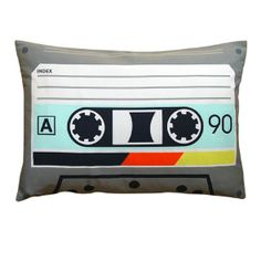 'Techno audio tape cushion' from www.rume.co.uk