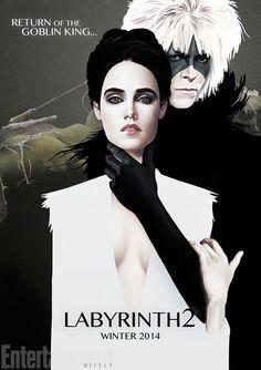 """Labyrinth 2"" poster."