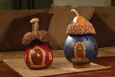 Red Ridge & Starview Cottages from Meadowbrooke Gourds