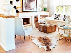 Light but cozy living room!