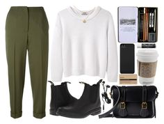 """""""expectations"""" by velvet-ears ❤ liked on Polyvore featuring Acne Studios, Alexander McQueen, Blundstone, Dr. Martens, Aesop, Incase, Chapstick and Hot Topic"""