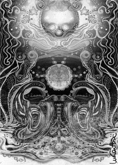 """""""La Tierra de los Sueños"""", para ED. OBLICUAS, Barcelona, [©MAR CANTÓN] (pencil, minor digital processing for publishing.)"""
