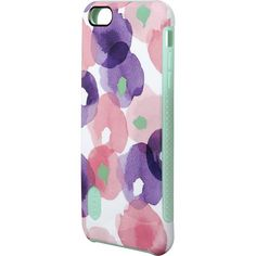 Modal - Dual-Layer Case for Apple® iPhone® 6 Plus - Flowers - Larger Front