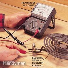 Troubleshoot just about any type of electrical wiring or device using a multimeter. This helpful tool will tell if you have a broken connection, no power, poor connections, faulty parts and more.(NEAT STUFF TTO KNOW-I ALREADY DO. Types Of Electrical Wiring, Electrical Work, Electrical Projects, Electrical Engineering, Cool Tools, Diy Tools, Home Repairs, Electronics Projects, Simple Electronics