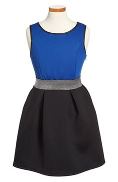 ME.N.U Colorblock Sleeveless Dress (Little Girls & Big Girls) available at #Nordstrom