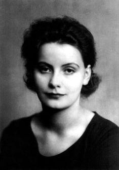 Greta Garbo in Stockholm, Sweden - 1920