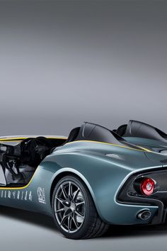 Aston Martin reveals a stunning new speedster concept. Designed to celebrate 100 years of sports car excellence CC100 nods to the past and hints at future Aston Martin design evolution.