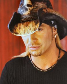 Bret Michaels - Poison. This is my all time favorite photo of Bret...Shannon Corson!