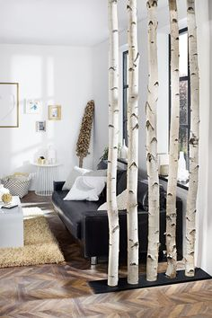 Places of Style Boxspringbett Erin Places of StylePlaces of Style House Plants Decor, Plant Decor, Decorative Room Dividers, Rustic Gardens, Basement Remodeling, Bauhaus, Sweet Home, New Homes, Interior Design