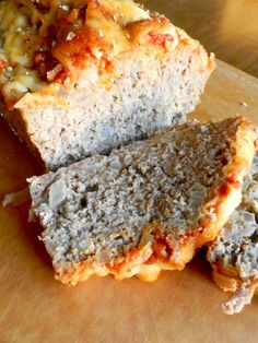 Parmesan Meatloaf by Rachel Schultz...I'm going to try this with half ground turkey and half deer meat