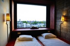 Volkshotel Amsterdam Centre | Hotel / Club / Restaurant – Affordable rooms with a creative & industrial design