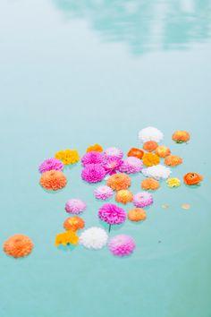 color pop! - Ben Q Photography- http://ruffledblog.com/color-pop-wedding-ideas/