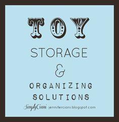 Simply Ciani: Creative Toy Organization & Organizing Stations