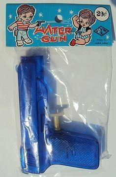 Vintage Elvin New Old Stock Water Gun Squirt Gun | eBay