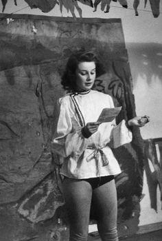 Young Audrey,circa 1946