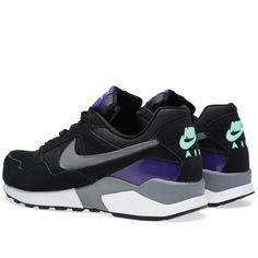 Nike Air Pegasus '92 (Black & Cool Grey)