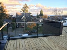 Interior Railings Vancouver - Aluminum Guardrail & Handrails (Commercial / Residential) - Metro Vancouver Railings Glass Stair Balustrade, Vancouver, Glass Stairs, Commercial