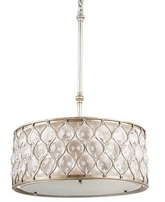 Murray Feiss Chandelier, Lucia Collection Crystal Oval Pendant - Lighting & Lamps - for the home - Macy's Sectional Sofa With Chaise, Leather Sectional, Cool Lighting, Pendant Lighting, Foyer Lighting, Lighting Ideas, Lighting Concepts, Oval Pendant, Crystal Pendant