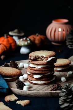 Galette, Bakery, Spirit, Cookies, Fall, Desserts, Chocolate Morsels, Bakery Business, Eat
