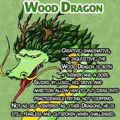 """""""Creative, imaginative, and inquisitive, the Wood Dragon is both a thinker and a… – Be Aware of Astrology Dragon Zodiac, Chinese Zodiac Dragon, Chinese Astrology, Numerology Calculation, Numerology Chart, Astrology Chart, Astrology Zodiac, Zodiac Years, Year Of The Dragon"""