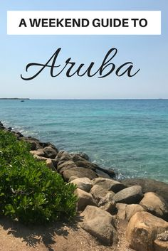 A Weekend Guide to Aruba packs in as much fun and adventure on the caribbean island as anyone can handle in a weekend. Great food, beaches, and more! Visit Aruba with friends or family for the perfect beach getaway!