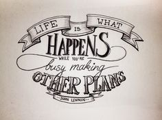 QUOTES - Hand Lettering on Behance