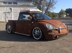I2000's VW Beetle Rat-Rod Conversion