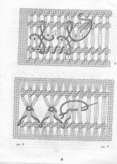Drawn thread / Vainicas. Basics. Models. How to.