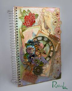 Mixed Media Journal/Notebook Cover DT Inspiration - Outlawz Greetings Challenge