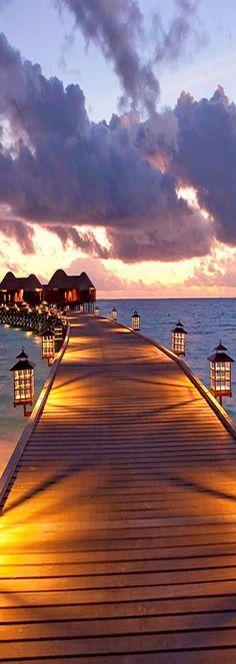 Constance Halaveli Resort ~ in the Maldives