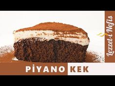 Nefis Piyano Kek Tarifi - Lezzetinin Sırrı Bu Videoda - YouTube Tiramisu, Pasta, Ethnic Recipes, Youtube, Food, Essen, Meals, Tiramisu Cake, Youtubers