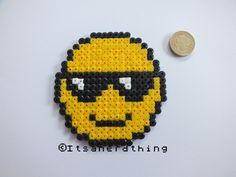 Emoji hama beads by Itsanerdthing