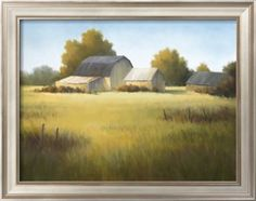 Country Meadow I Art Print by David Marty at Art.com