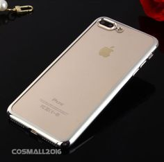 Shockproof-Plating-Crystal-Soft-TPU-Border-Case-Cover-for-Phone-7-7Plus-6Series