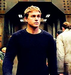 (gif) Damn him and his stupid sweaters! #raleighbecket #pacificrim
