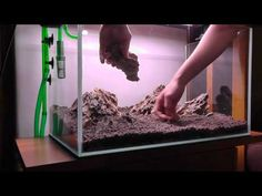 Aquascape Iwagumi Style - Part 1 - Hardscape [HD] - YouTube