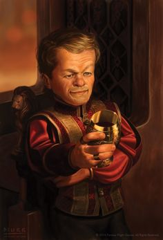 Awesome Digital Painting of Tyrion Lannister by JakeMurray