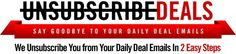 Unsubscribe Deals - unsubscribes you from your daily deal emails california daily deals