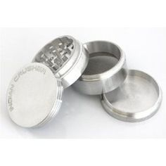 2.0'' Lifetime Warranty* 4pc Indian Crusher, Tobacco, Herb Grinder CNC tooled from Raw Aluminum --- http://www.amazon.com/Lifetime-Warranty-Indian-Crusher-Aluminum/dp/B007JLVOQW/?tag=budcafe-20