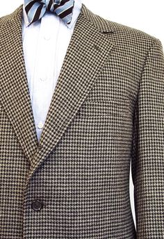 O'Connell's Worsted & Lambswool Sport Coat - Grey & Black Check